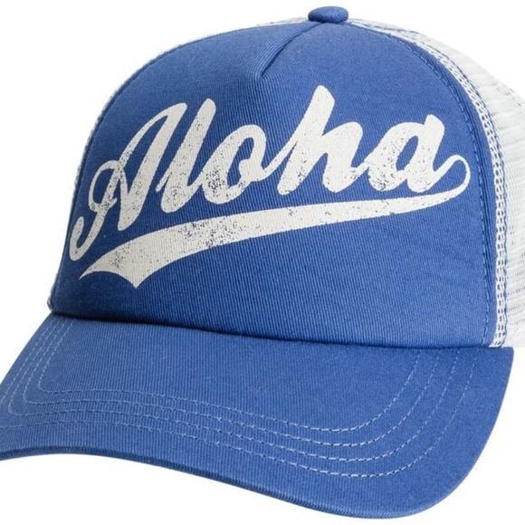 02baaa214df7a3 Billabong Accessories | Aloha Forever Trucker Hat | Poshmark